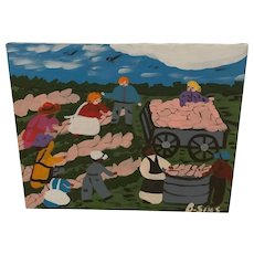 Bernice Sims - Folk Art Painting