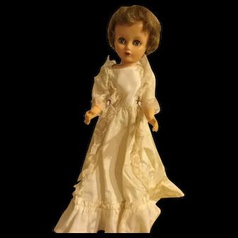 Vintage Hard Plastic Doll
