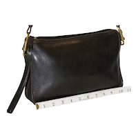 1970's Coach Convertible Clutch NYC Model in Brown