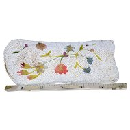 Beaded Eyeglasses Case with Tambour from Belgium