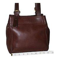 Vintage Coach Buckle Bag in Brown