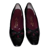 Vintage Christian Dior Calfskin Pumps SZ U.S. 10 Eur 42