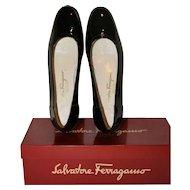 Vintage Salvatore Ferragamo Patent Loafers US-8AAA/U.K. 6.5/EU 39