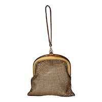 Vintage 1930's Whiting & Davis Mesh Flapper Dance Bag