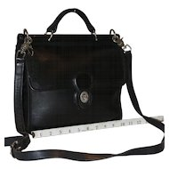 Vintage Coach Willis in Black Leather  10% OFF