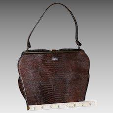 1950's Lizard Kelly Evening Bag  25% OFF