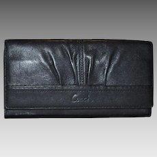 Vintage Coach Tri-Fold Wallet