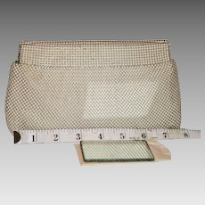 Whiting & Davis Hinged Evening Clutch  25% OFF