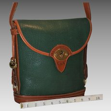 Vintage Dooney & Bourke Cavalry Spectator Bag Model P76  15% OFF
