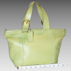 Vintage Coach Waverly Tote