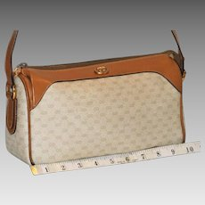 Vintage Gucci Top Zip Pouchette from Italy