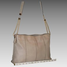 Vintage Bottega Veneta Textured Leather Tote from Italy