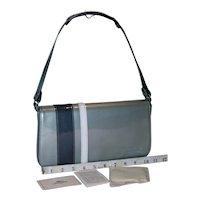 Vintage Longchamp Patent Leather Messenger Bag