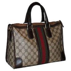 1970's Gucci Boston Bag Valise XL