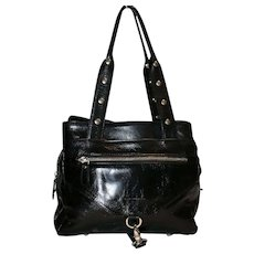 Francesco Biasia Studded Tote from Italy