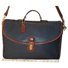 Vintage Coach Sumter Briefcase from the Sheridan Collection