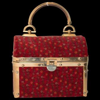 Vintage Borsa Bella Train Bag from Italy
