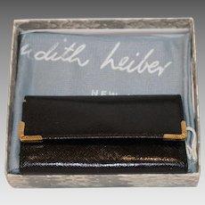 Vintage Judith Leiber Saffiano Key Holder