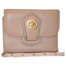 Vintage Marc Jacobs Turnlock Calfskin Wallet