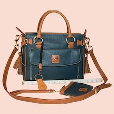 Vintage Dooney & Bourke Medium Pocket Satchel