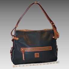 VIntage Dooney & Bourke Two Pocket Hobo