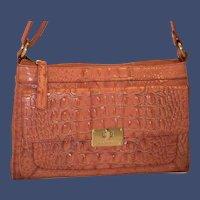 Vintage Brahmin Melbourne Poppy Satchel