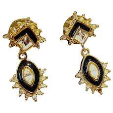 Vintage Monet Earrings