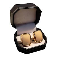 Vintage Christian Dior Onyx Clip-on Earrings