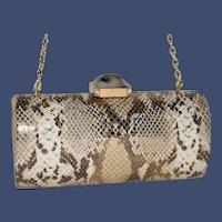Vintage Judith Leiber Asiro Leather Convertible