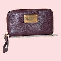 Vintage Marc Jacobs Classic Q Wingman Wristlet Wallet
