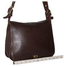 Vintage Coach Stewardess Bag in Brown