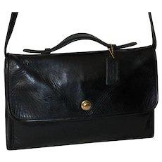 1970s Vintage Coach Avenue Bag Model 9886