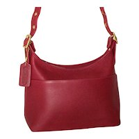 Vintage Coach Legacy Pocket Hobo Model 9136