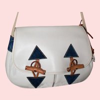 Vintage Dooney & Bourke Large Toggle Bag