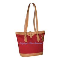 Vintage Dooney & Bourke Cabrio Small Bucket