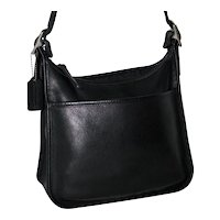 Vintage Coach Legacy Top Zip Model 9966 In Black