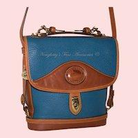 Vintage Dooney & Bourke Carrier Bag R702 FB in French Blue