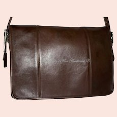Vintage Coach Legacy Mailbag Brief Model 9065