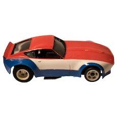 Vintage Amrac Datsun 240Z HO Slot Racing Car