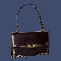 1950s Florentine Formal Satchel Evening Bag