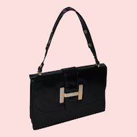 1960s H Bag Kelly from Italy for The Hecht Company