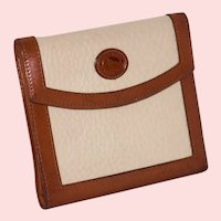 Vintage Dooney & Bourke All Weather Leather Large Credit Card Wallet Model W06
