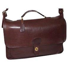 Vintage 1970s Metropolitan Briefcase Original N.Y.C. Model