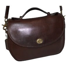 Vintage Coach Plaza Bag Large Edition #9865