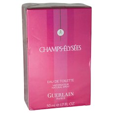Vintage Champs-Élysées Guerlain Eau de Toilette from France