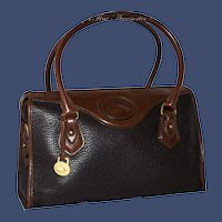 Vintage Dooney & Bourke Shoulder Satchel Model R721