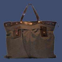 Vintage Celine Luggage Two Pocket Tote