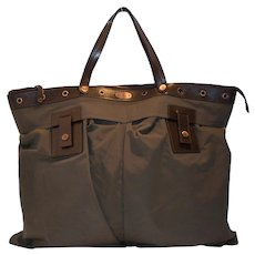 Vintage Celine Luggage Two Pocket Tote