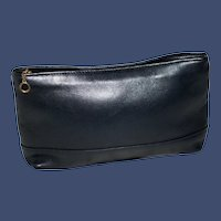 Vintage Coach Top Zip Small Pouch