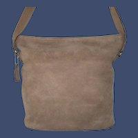 Vintage Coach Sonoma Nubuc Bucket Zip Tote Model 4932
